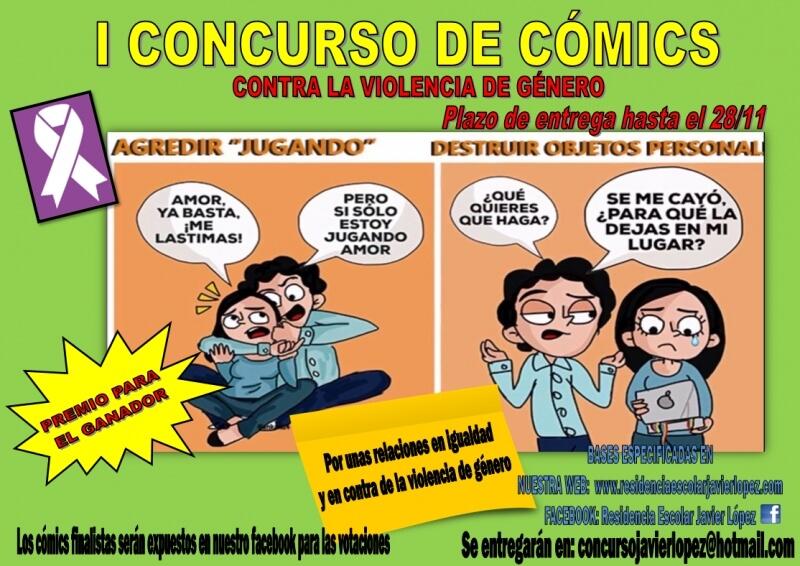 """I Concurso de Cómics contra la Violencia de Género"""